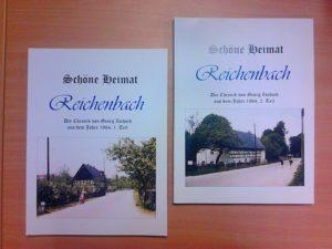 """Die neusten Bücher aus der Buchreihe """"Schöne Heimat – Reichenbach"""""""